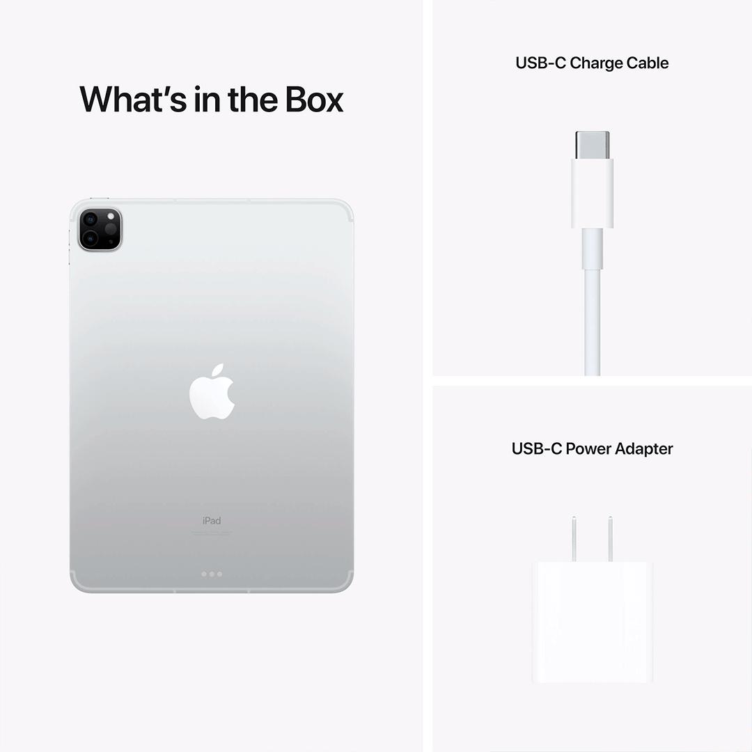 "Купить Apple iPad Pro 11"" 128GB M1 Wi-Fi 4G Silver (MHMU3 ..."