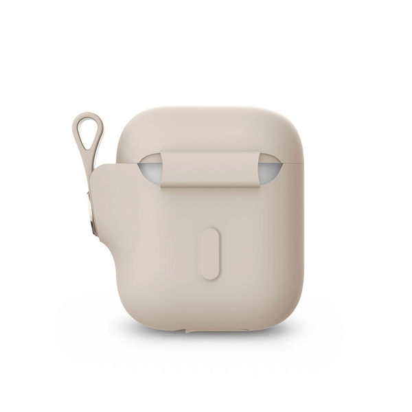 Чехол Moshi Pebbo Case Savanna Beige for Airpods (99MO123161)