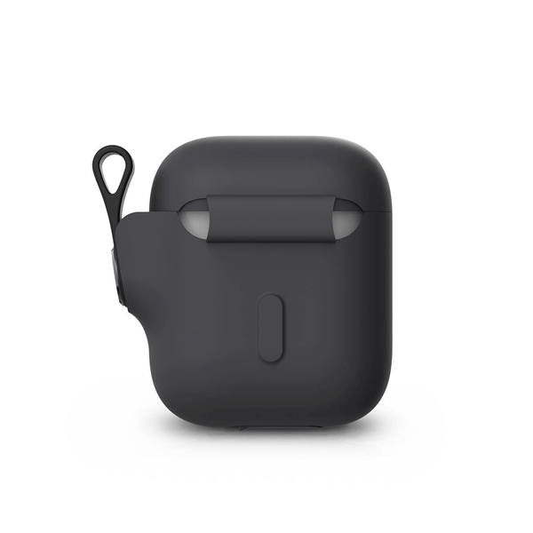 Чехол Moshi Pebbo Case Shadow Black for Airpods (99MO123031)