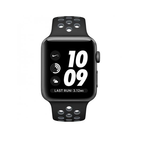 БУ Apple Watch Series 3 GPS 42mm Space Gray Nike SportBand (MNYY2)