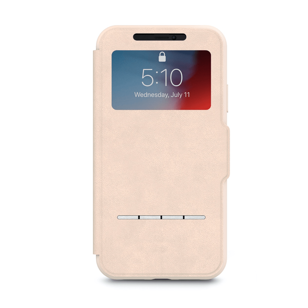 Чохол Moshi SenseCover Touch-Sensitive Portfolio Case with SensArray Savanna Beige for iPhone XR (99MO072111)