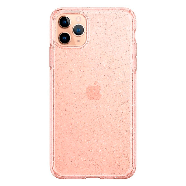 Чохол для iPhone 11 Pro Spigen Liquid Crystal Glitter ( Rose Quartz )