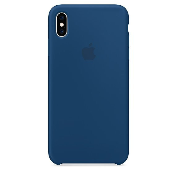 Чохол для iPhone Xs Max Apple Silicone Case (Blue Horizon) MTFE2