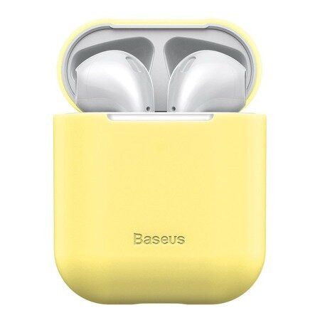 Чохол для AirPods 1/2 Baseus Case For Pods ( Yellow ) WIAPPOD-BZ0Y