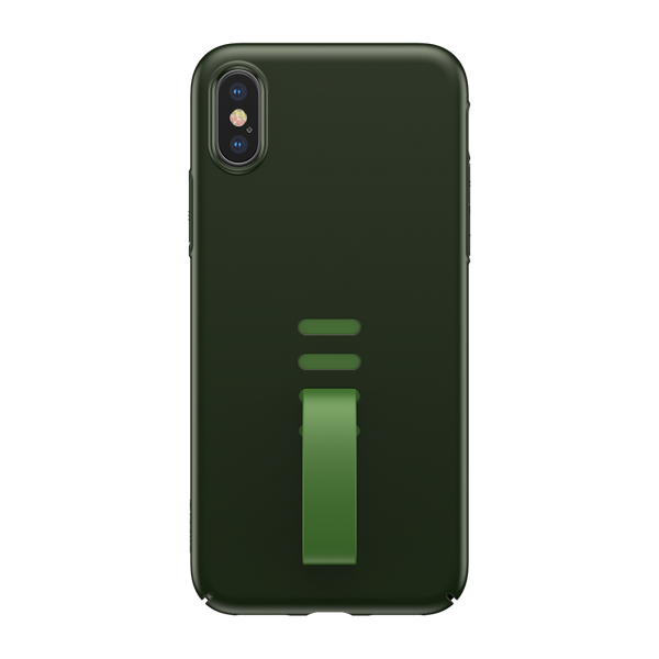 Чохол для iPhone X Baseus Little Tail ( Green ) WIAPIPHX-WB06