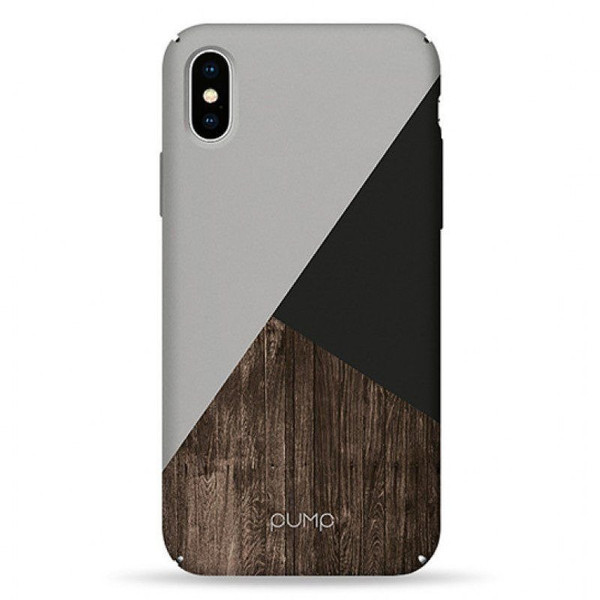 Чехол iPhone X / Xs PUMP Tender Touch Case Tree On Black (00002694)