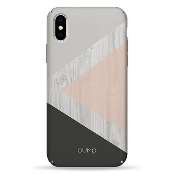 Чехол iPhone X / Xs PUMP Tender Touch Case  Tree On Pink  (00002695)