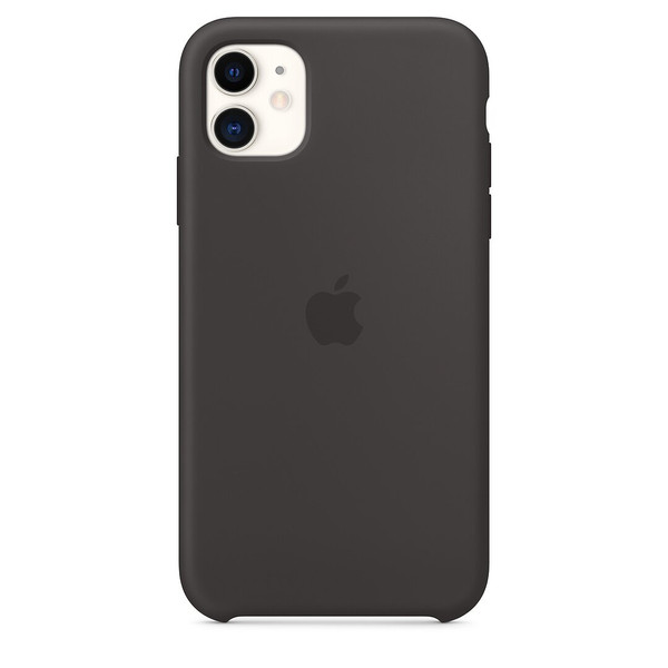 Чохол для iPhone 11 Apple Silicone Case ( Black ) MWVU2 UA