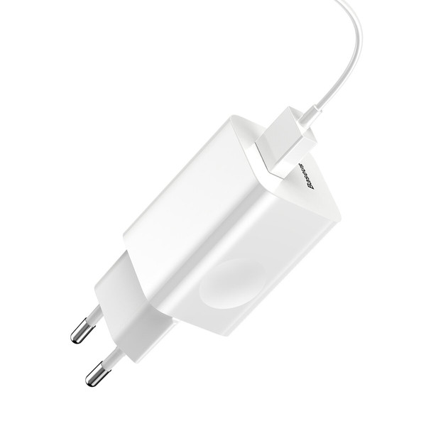 МЗП Baseus Charging Quick Charger ( White ) CCALL-BX02 White (004859)