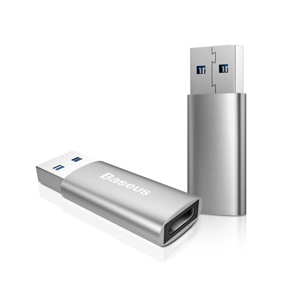 Переходник Baseus Sharp Series Adapter USB 3.0 to Type-C 3.1 ( Dark Gray ) CATAD-0G Dark Gray (004260)