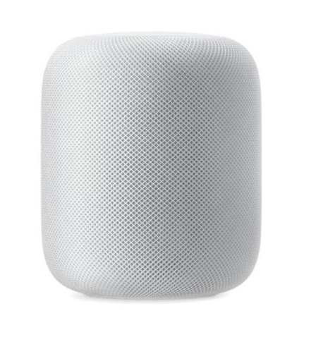 Apple HomePod MQHW2 ( Black ) White (002228)