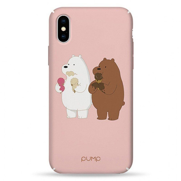 Чехол iPhone X / Xs PUMP Tender Touch Case Two Out of Three (00002696)