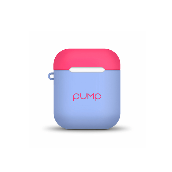 Чехол Pump Tender Touch Case for Apple AirPods ( Light Blue Hot Pink )