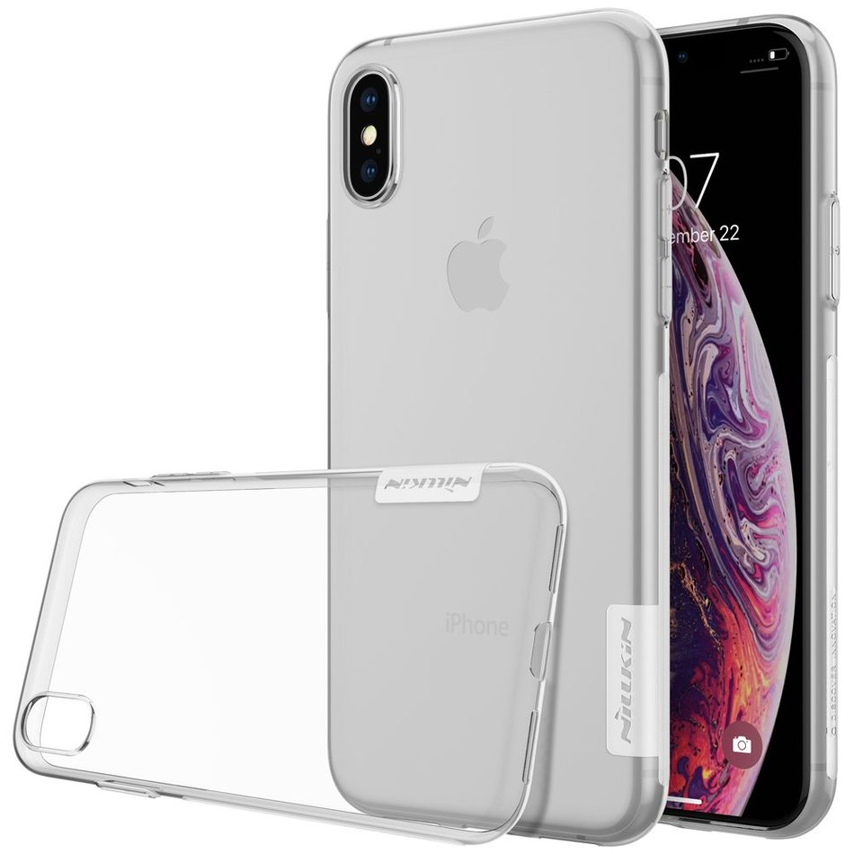 Чохол для iPhone X / Xs Nillkin Nature Series (Transparent)
