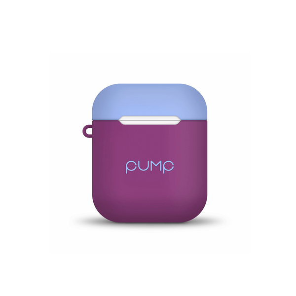 Чехол Pump Tender Touch Case for Apple AirPods ( Violet Light Blue )