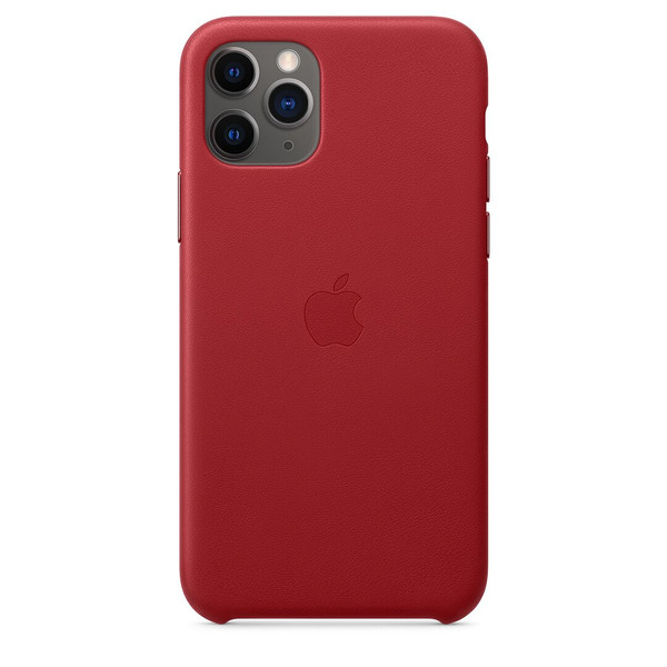 Чохол для iPhone 11 Pro Apple Leather Case (Red) MWYF2 UA