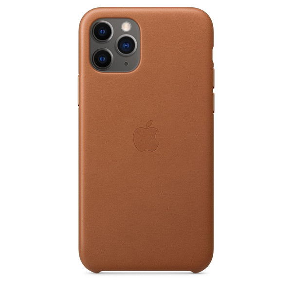 Чохол для iPhone 11 Pro Apple Leather Case (Saddle Brown) MWYD2