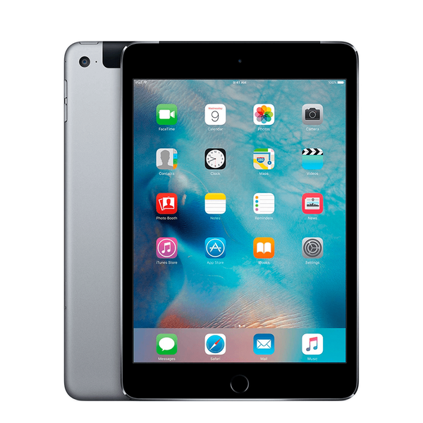 Б/У Apple iPad mini 4 Wi-Fi + Cellular 128GB Space Gray (MK8D2, MK762) (2015)