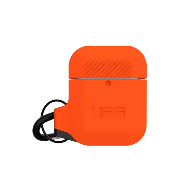 Чехол для AirPods UAG Silicone ( Orange/Grey ) 10185E119732