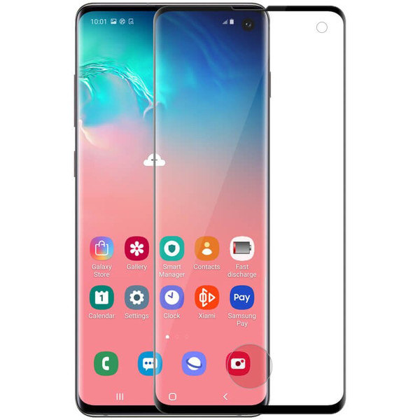 Захисне скло для Samsung S10+ Nillkin Glass Screen 3D CP+MAX ( Black )