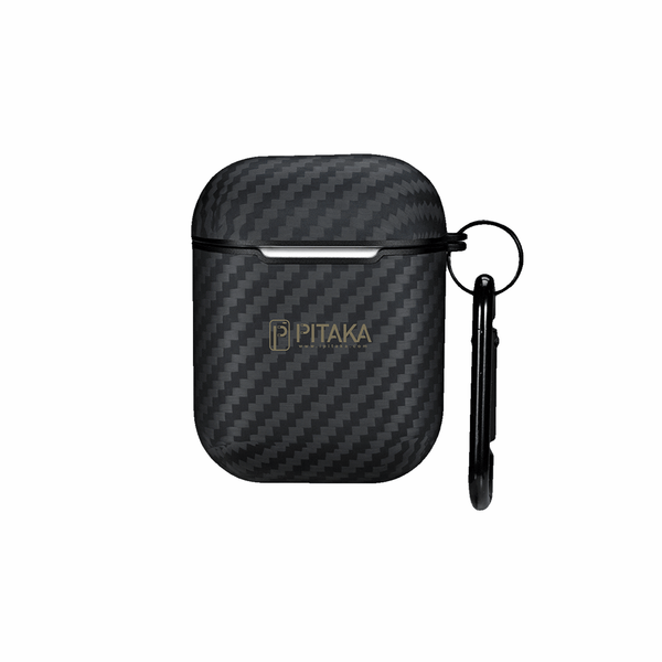 Чехол для Airpods Pitaka Air Case Black/Grey (KI1101MA)