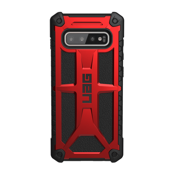Чохол для Samsung S10+ UAG Monarch ( Crimson )