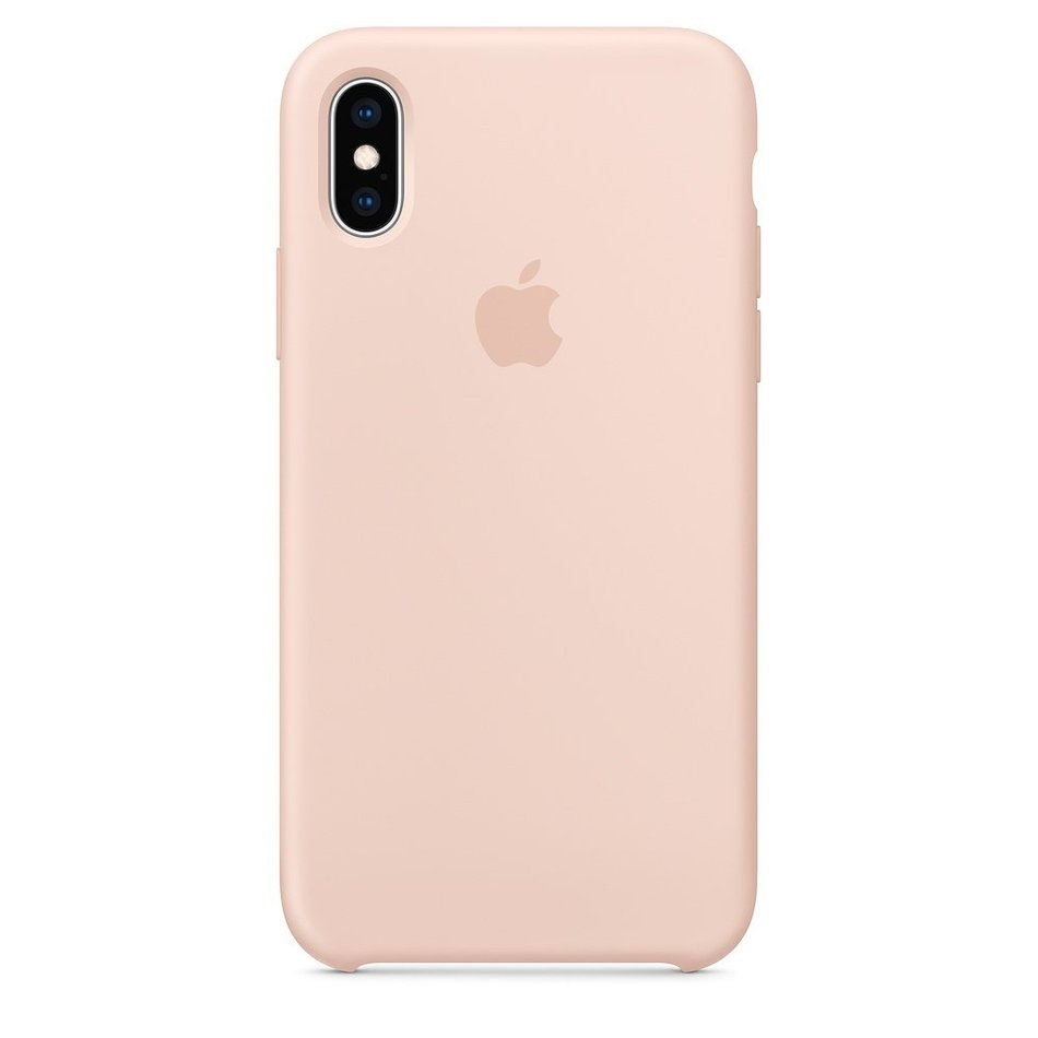 Чохол для iPhone Xs Apple Silicone Case (Pink Sand) MTF82 UA