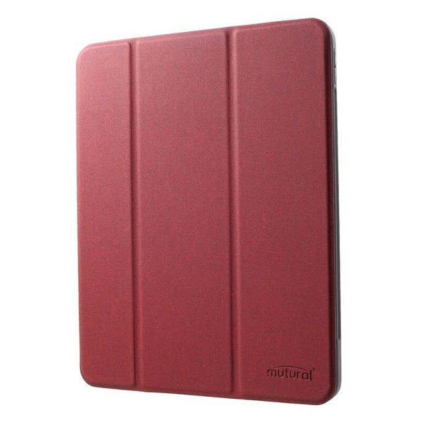 "Чехол для iPad 9,7"" ( 2017/2018 ) Mutural Case Leather with TPU Soft Back ( Red )"