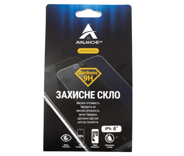 Скло 6s Avalanche Premuim Series ( Clean )
