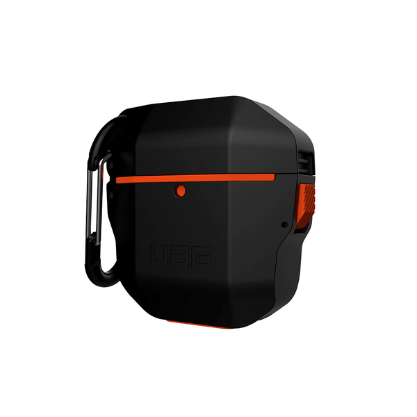 Чехол для AirPods UAG Silicone Hardcase ( Black/Orange ) 10185F114097