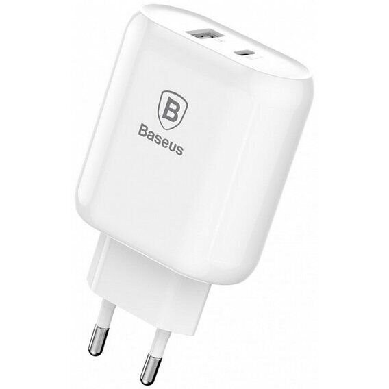 МЗП Baseus Bojure Series Type-C PD Quick Charge Charging 32W ( White ) CCALL-BG02 White (005868)