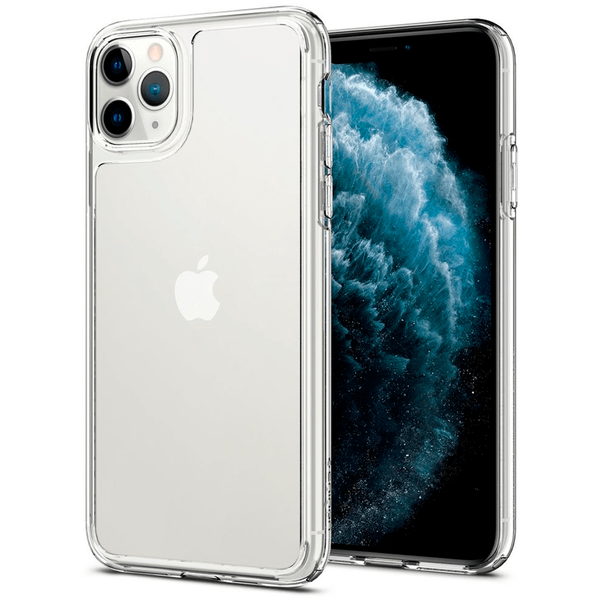 Чохол для iPhone 11 Pro Max Spigen Quartz Hybrid ( Crystal Clear )