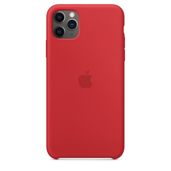 Чехол для iPhone 11 Pro Max Apple Silicone Case (Red) MWYV2 UA