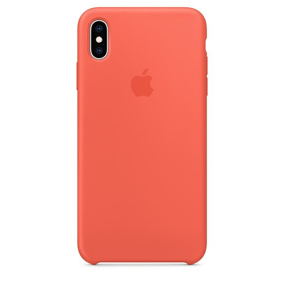 Чохол для iPhone Xs Max Apple Silicone Case (Nectarine) MTFF2