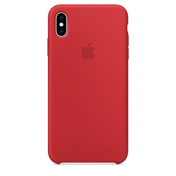 Чохол для iPhone Xs Max Apple Silicone Case (PRODUCT RED) MRWH2