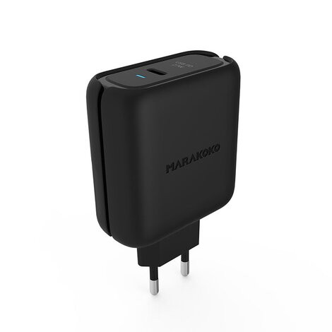 МЗП Marakoko Valor Power Series USB-C PD Fast Wall Charger 45W Black (006843)