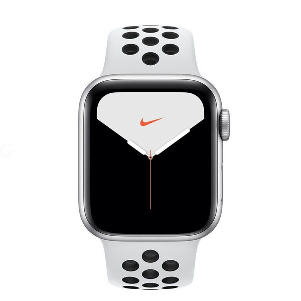 SWAP Apple Watch Series 5 Nike GPS + LTE 40mm Silver Aluminum Case with Pure Platinum/Black Sport Band