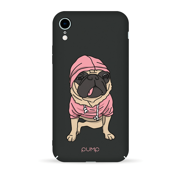 Чохол iPhone Xr PUMP Tender Touch Case ( Mops )